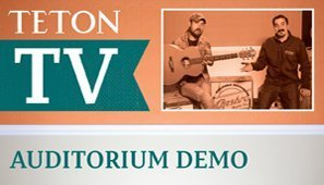 Lorin Walker Madsen Demo's the STA105NT – NEW Teton Model