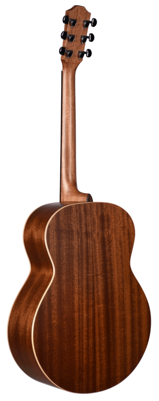 STJ105NT Teton Jumbo Guitar Back and Sides