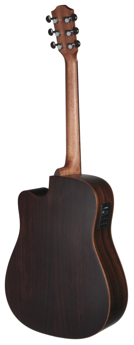 STS155CENT Teton Dreadnought Acoustic Guitar Back and Sides