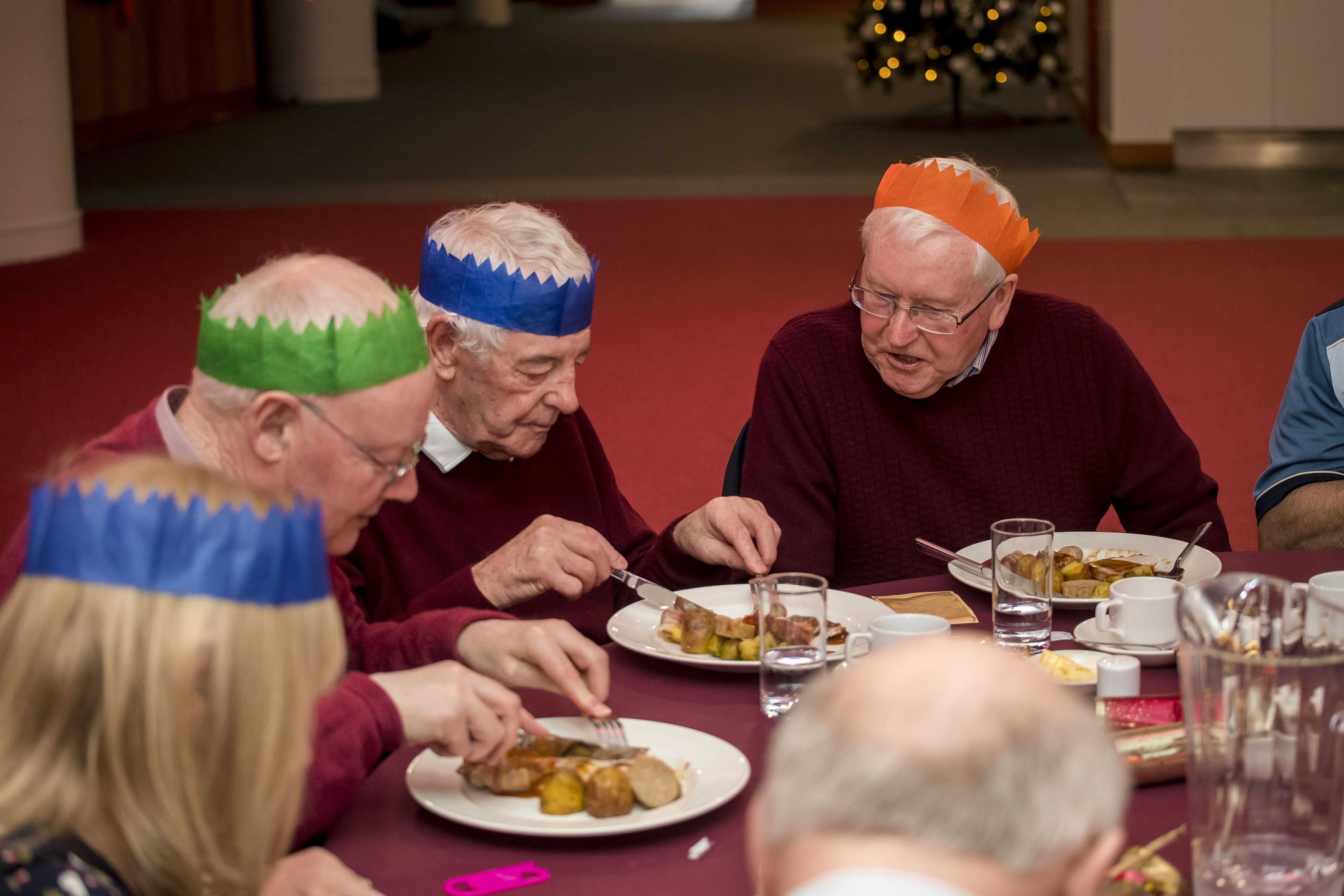Big Hearts hold Festive Memories Event at Tynecastle