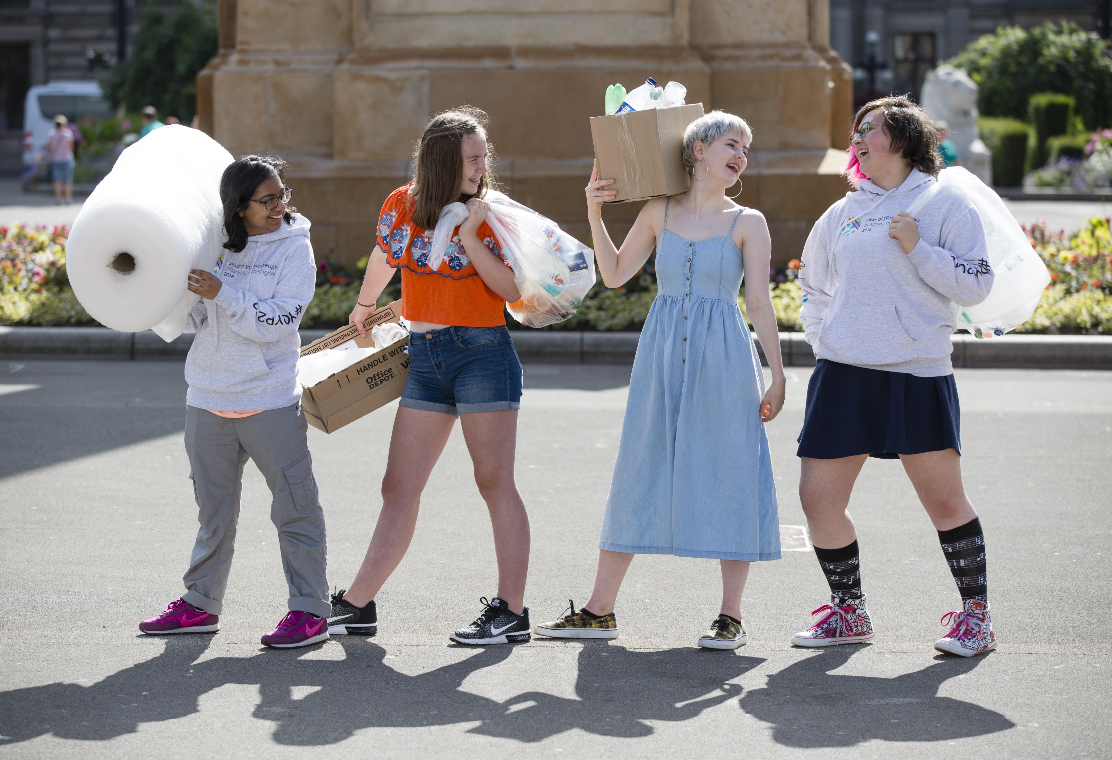 Young Scots to create art from junk