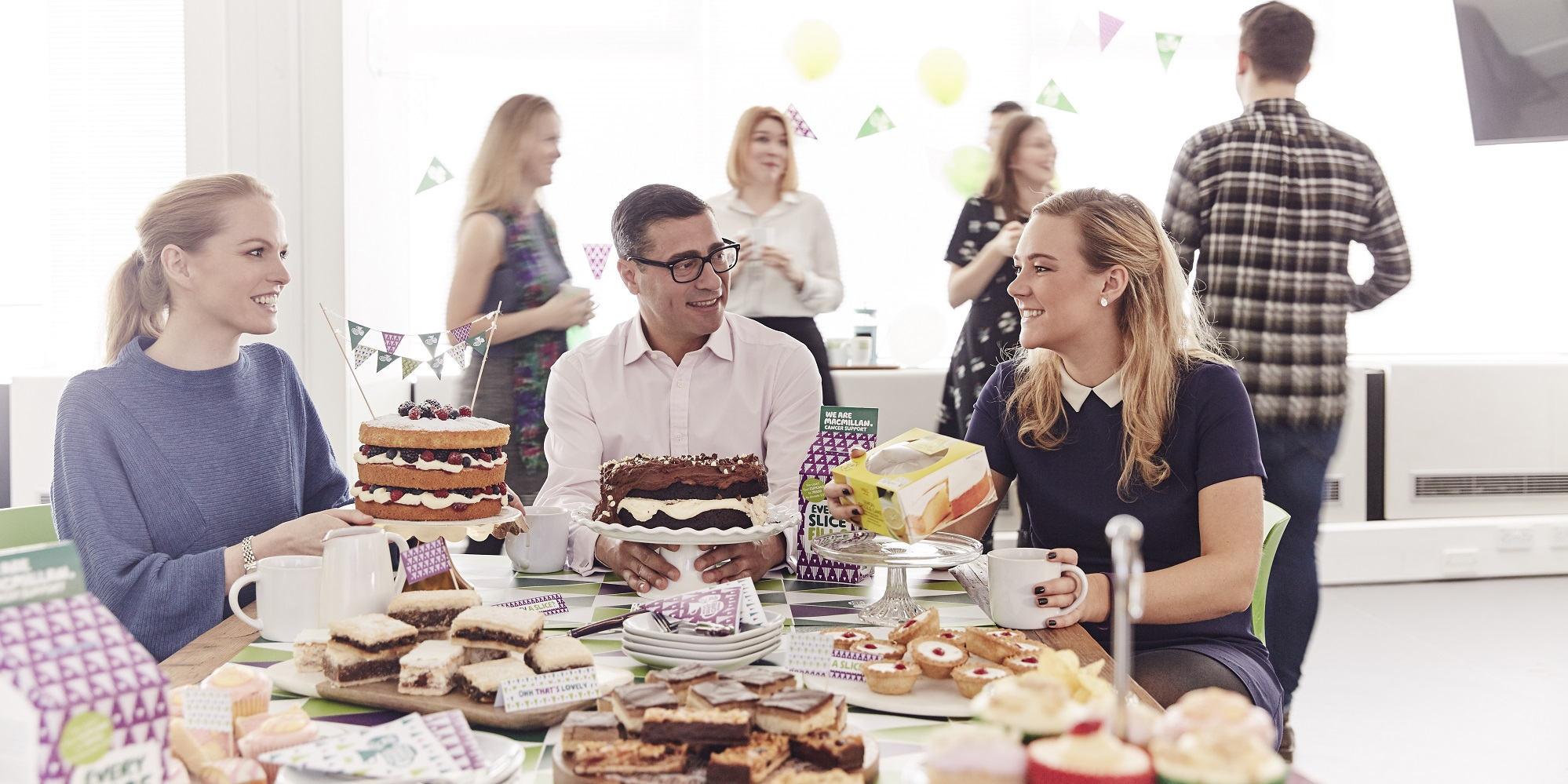 2. Macmillan Cancer Support - World's Biggest Coffee Morning