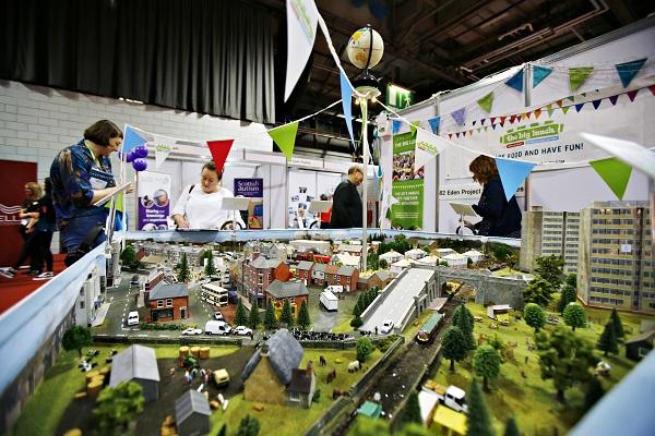 Eden Project Communities stand