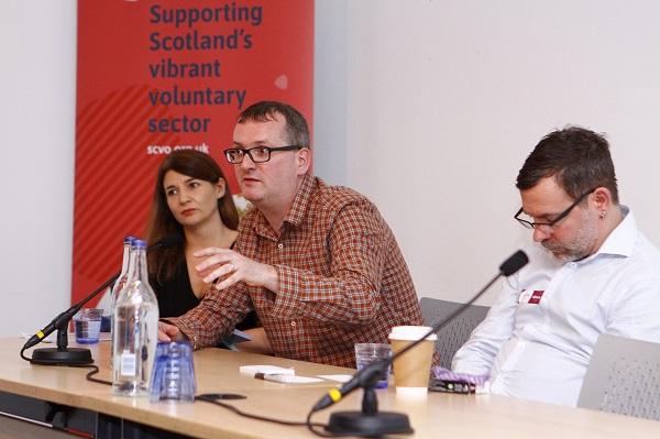 Morag Moffett, Dave Scott and Andrew Burnett