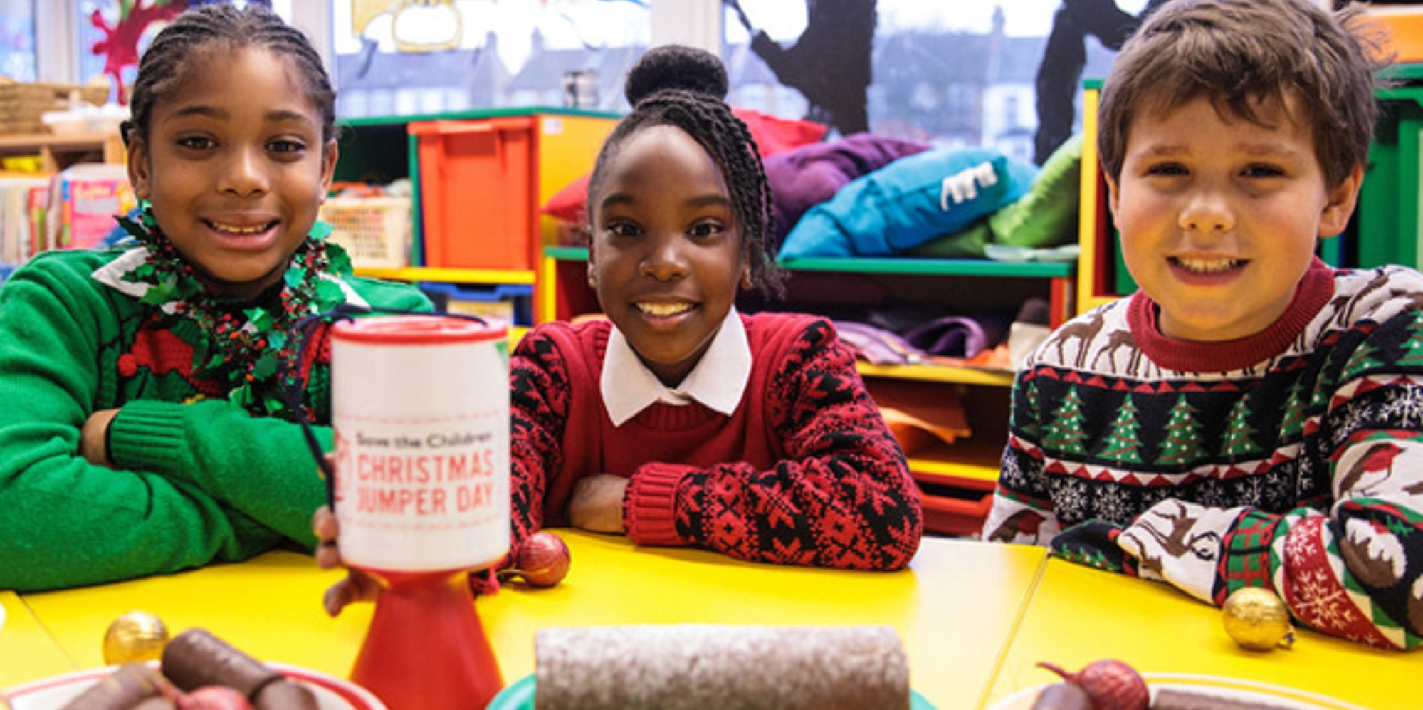 9. Save the Children - Christmas Jumper Day