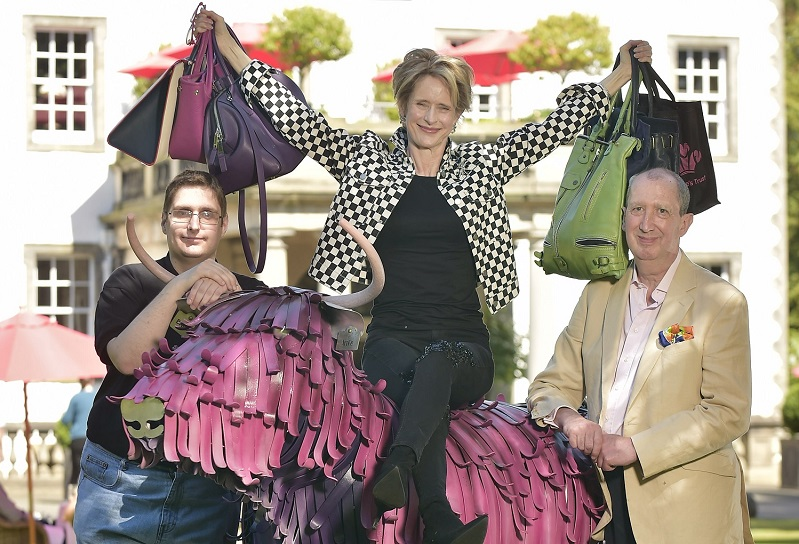 Glamourous ladies get set for charity lunch