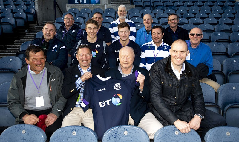 Rugby club's journey of thanks