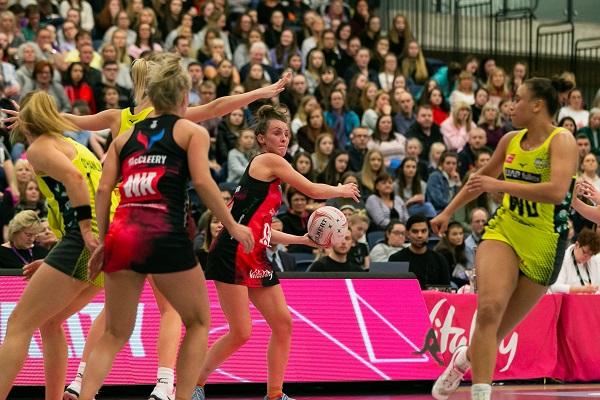Netball team backs campaign