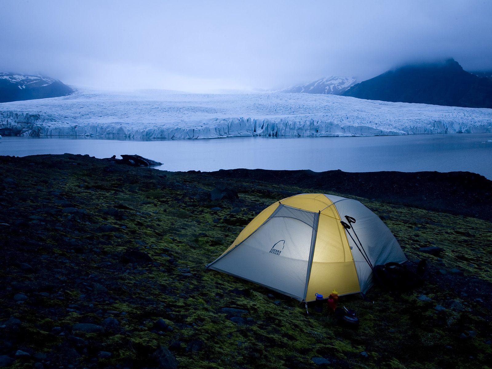 Camp where vikings tread