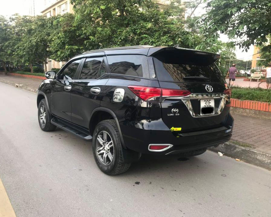 Xe Cũ Toyota Fortuner 2.4G 2017