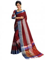Maroon Color Designer Fancy Saree
