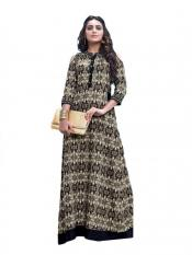 Black and Gray Color Designer Kurti