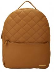 Lapis O Lupo Wheaten Women�s Quilting Laptop Backpack - Beige image