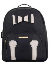 Lapis O Lupo Synthetic Zing Womens Backpack  - Black