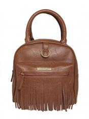 Lapis O LupoIso Synthetic lated Ominous Women Backpack - Tan