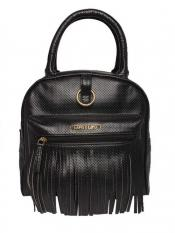 Lapis O Lupo Synthetic Gross Guff Women Backpack - Black