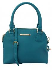 Lapis O Lupo Pale Hued Women Neno Synthetic Handbag - Turquoise