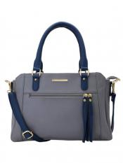 Lapis O Lupo Women Synthetic Handbag - Grey