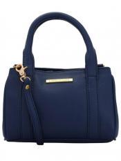 Lapis O Lupo Byzantine Women Neno Synthetic Handbag - Blue