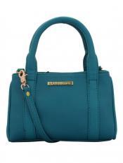 Lapis O Lupo Calcareous Women Neno Synthetic Handbag - Turquoise