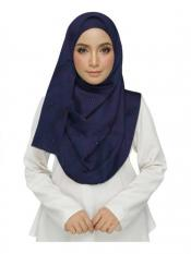 Stole for Women - Cotton Plain Stole - Blue