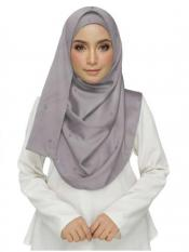 Stole for Women - Cotton Plain Stole - Grey