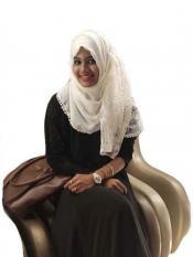 Stole For Women Designer Cotton Half Net Stole White