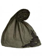 Stole for Women Most Sold Designer Diamond Studed Stole Brown