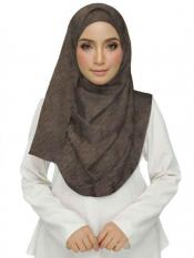 Stole for Women Premium Crush Diamond Stole Brown