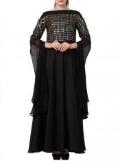 Mushkiya Premium Nida Modern, Modest and Elegant Dress With a Free Matching Stole