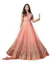 Royal Export Net Floor length Readymade Gown in Image