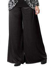 Mehar Palazo Pant In Black