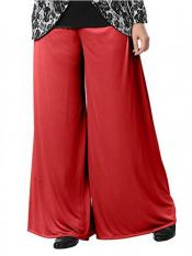 Mehar Palazo Pant In Red