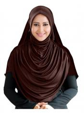 Mehar Faeezah Hijab Formal In grey