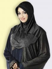 Mehar Hijab In Black