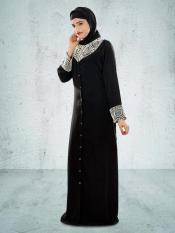 MyBatua Iqra Black Burqa