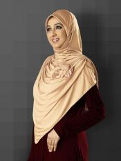 Anarkali Xtra Soft Knitted Icra Instant Hijab In Skin
