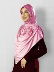 Anarkali Xtra Soft Knitted Icra Instant Hijab in Baby Pink