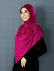 Anarkali Xtra Soft Knitted Icra Instant Hijab In Pink