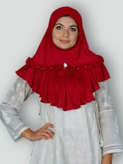 Aaima Instant Hijabs In Red