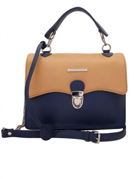 Lapis O Lupo Mocha Women Synthetic Sling Bag Image