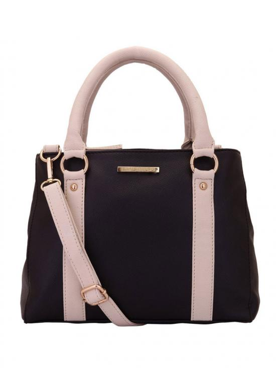 Hazel Women Synthetic Handbag - Brown