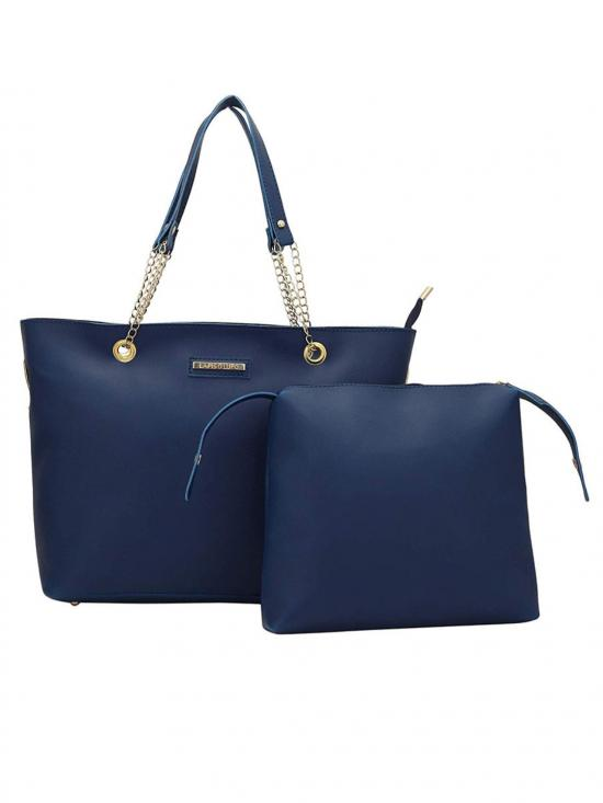Bag In Bag  Women Tote - Blue