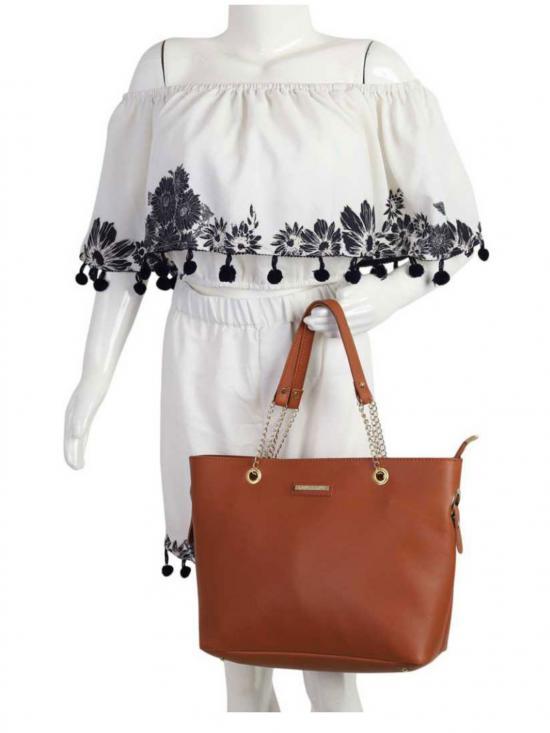 Bag In Bag  Women Tote - Tan