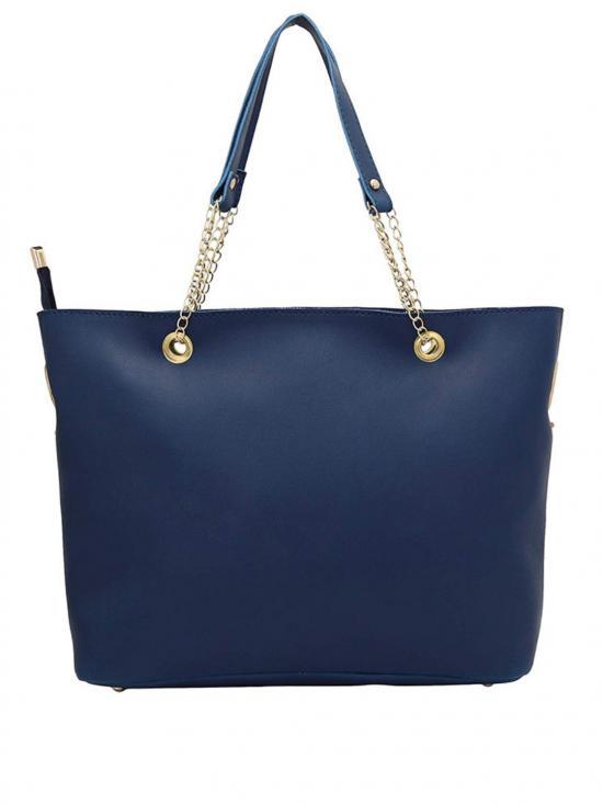 Bag In Bag  Women Tote - Blue