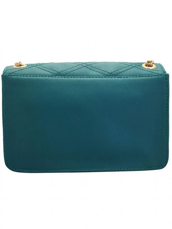 Turkish Women Synthetic Sling Bag - Turquoise