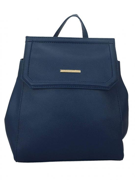 Synthetic Livid Women Backpack - Blue