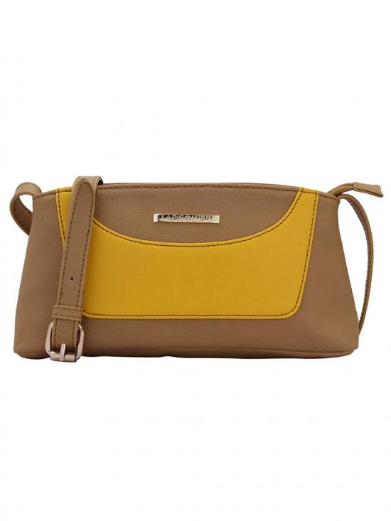 Lapis O Lupo Loblolly Women Synthetic Sling Bag - Beige