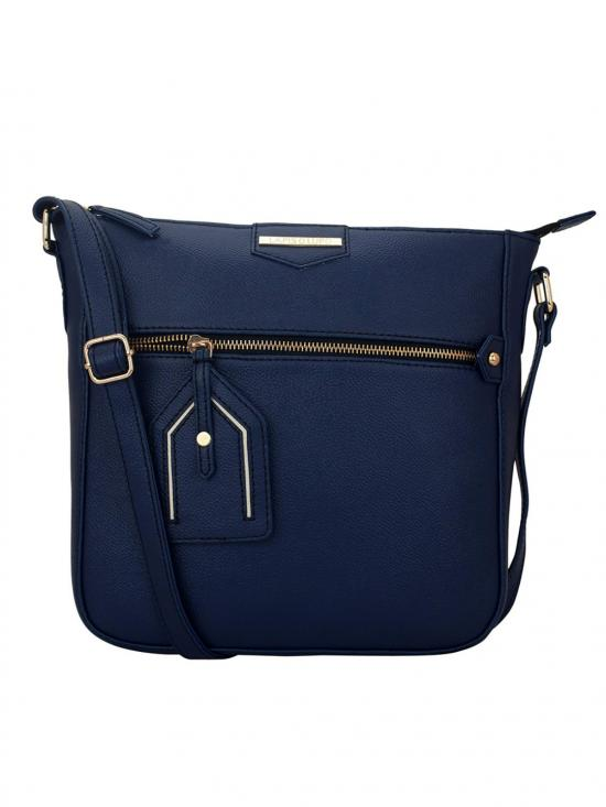 Alpine Women Synthetic Sling Bag - Blue