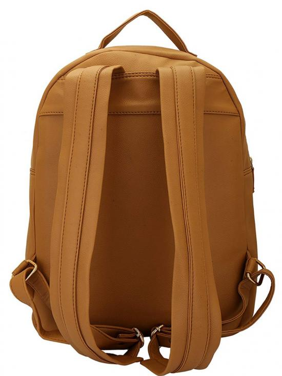 Lapis O Lupo Wheaten Women�s Quilting Laptop Backpack - Beige